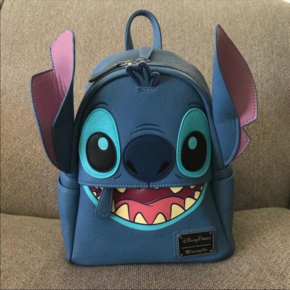 e732cbe7603 New Disney Stitch Loungefly Mini backpack